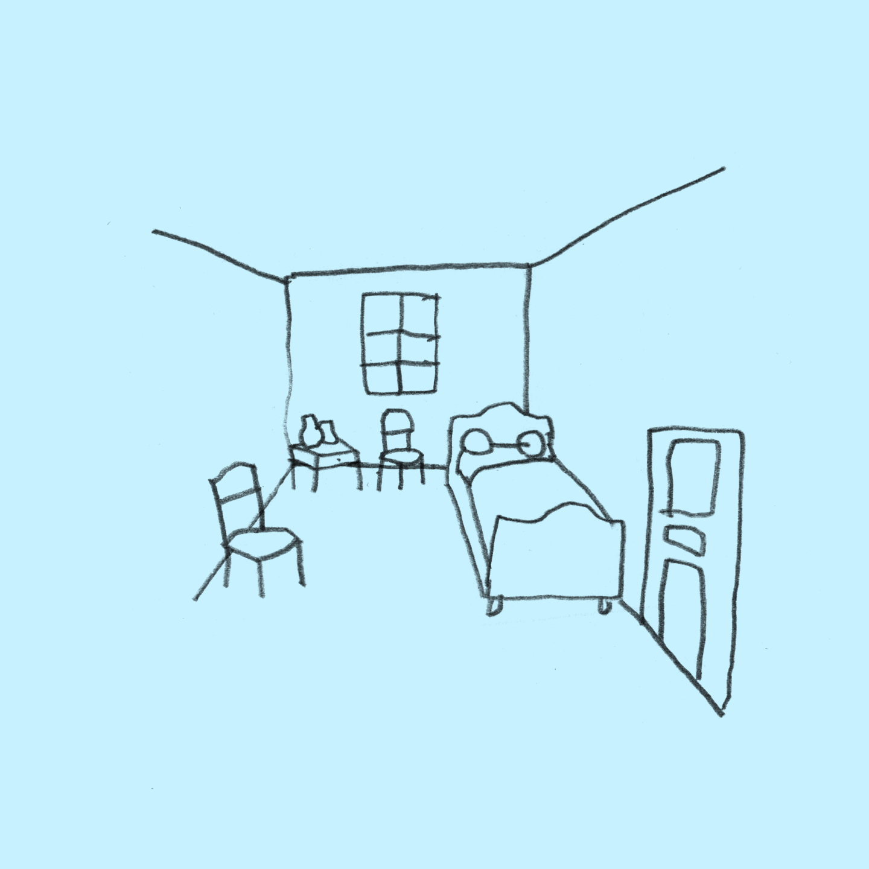 The Bedroom, van Gogh