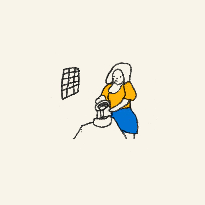 The Milkmaid, Vermeer